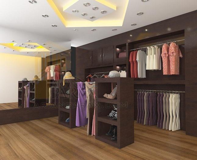 نتیجه تصویری برای دکوراسیون داخلی مغازه