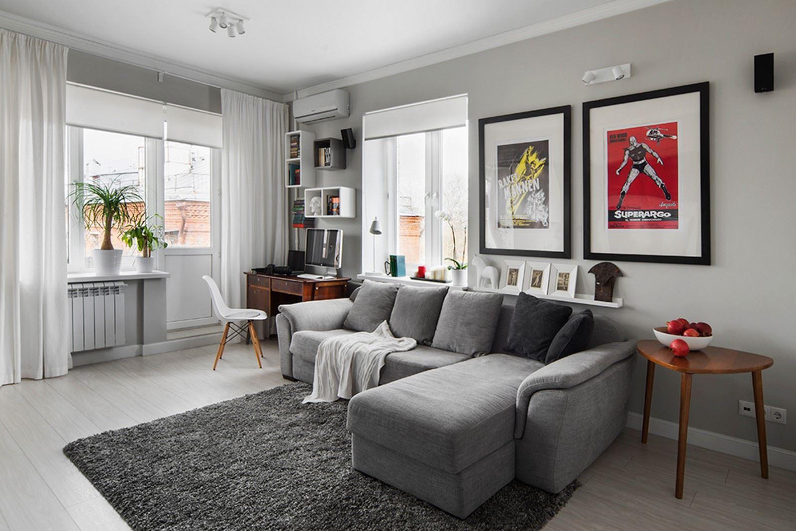 How To Decorate A Gray Living Room: تاثیرات روانی رنگ خاکستری در دکوراسیون داخلی