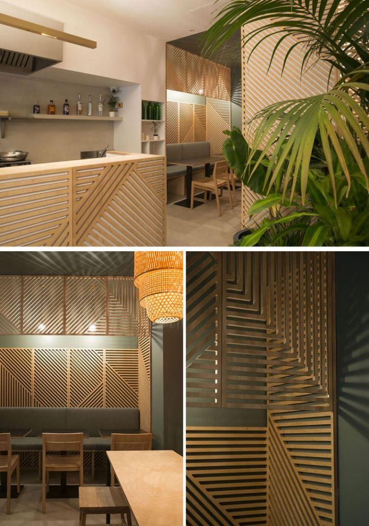 رستوران چوبی