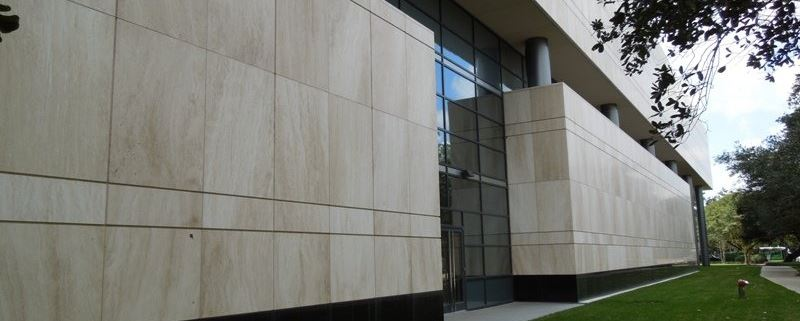 facade stone building