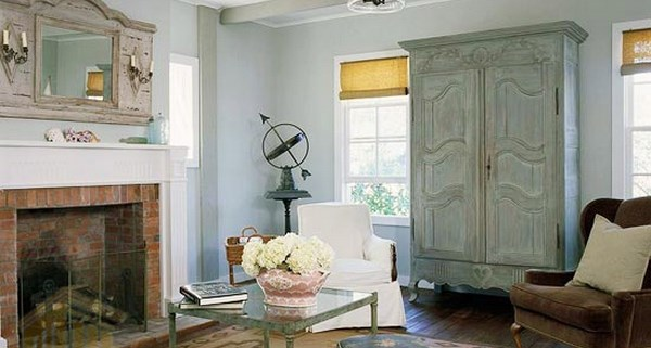 اتاق نشیمن خاکستری