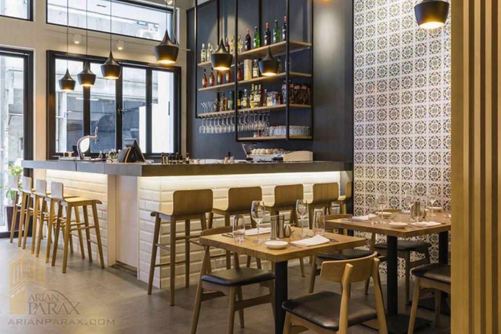 طراحی داخلی رستوران ایتالیایی