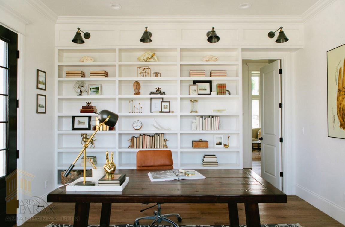 قفسه بندی چوبی