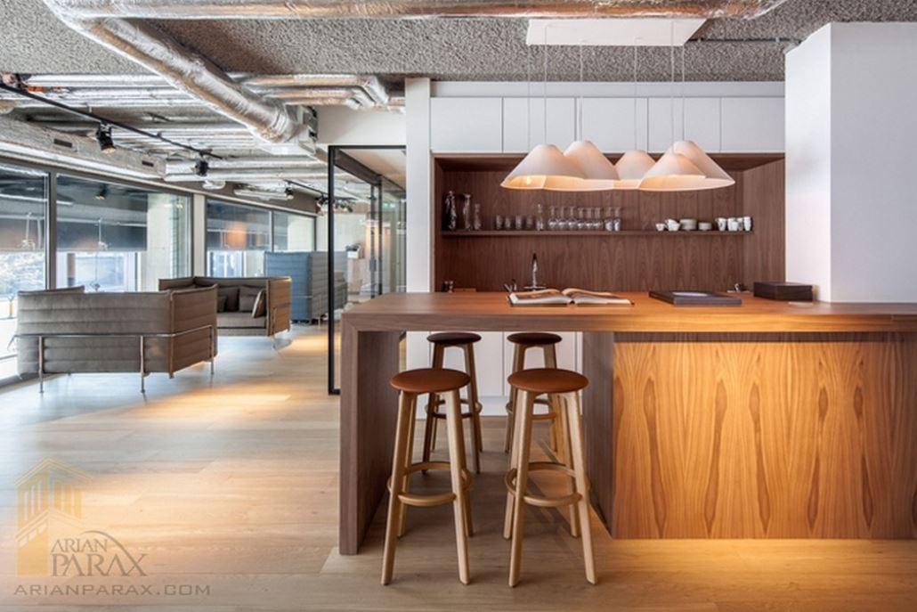 طراحی داخلی مشاورین املاک