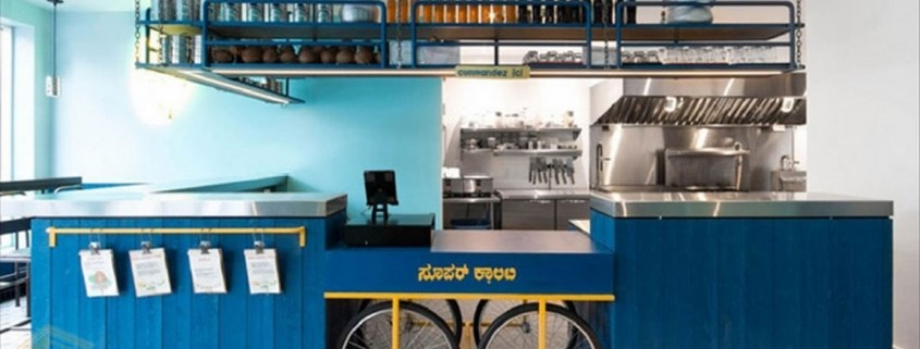دکوراسیون رستوران هندی