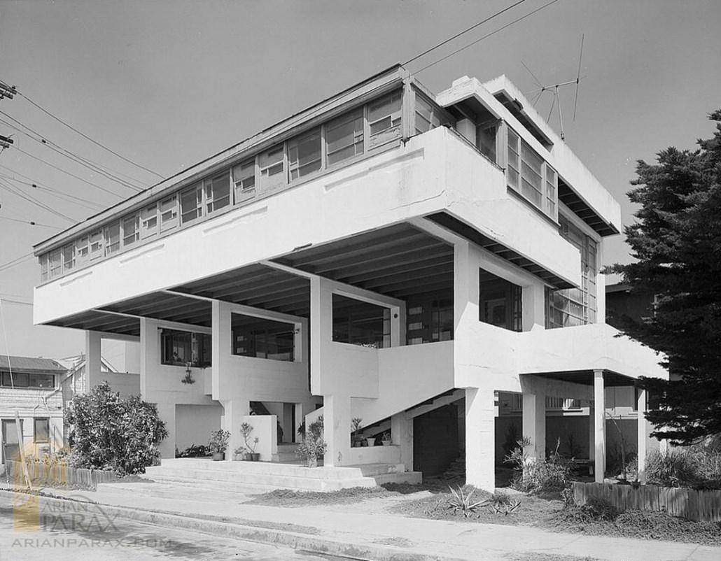 خانه ساحلی Lovell