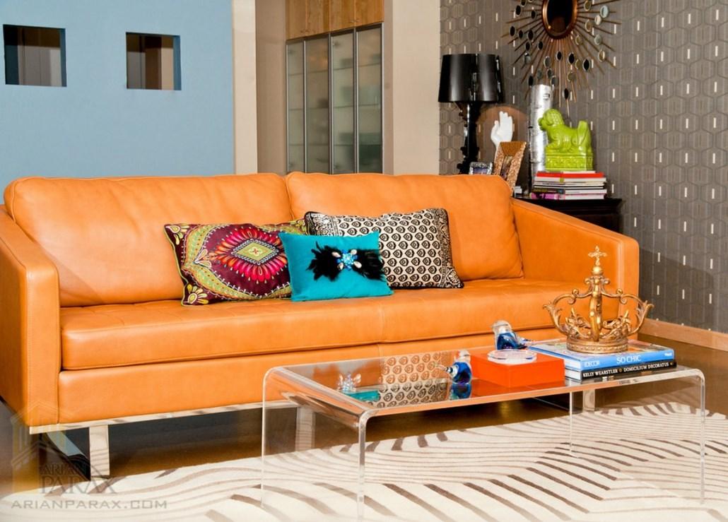 کاناپه نارنجی