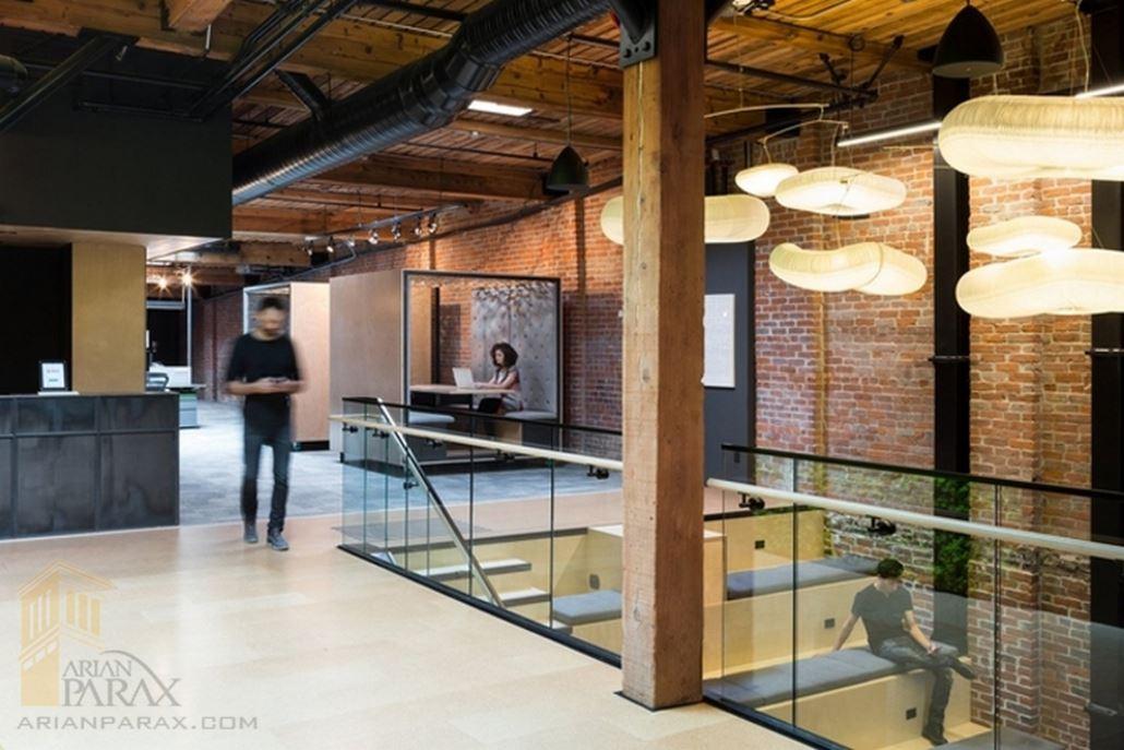 طراحی داخلی شرکت نرم افزاری