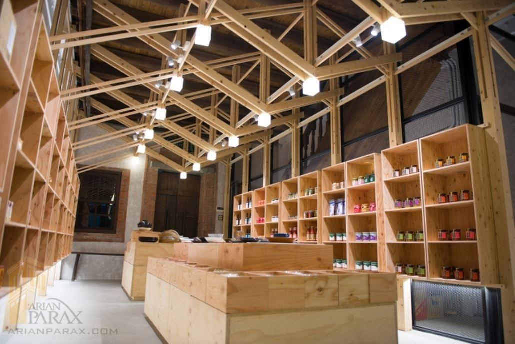 طراحی معماری داخلی فروشگاه