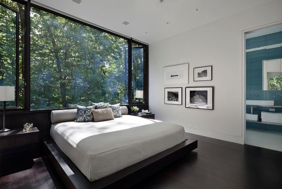 اتاق خواب شیشه ای