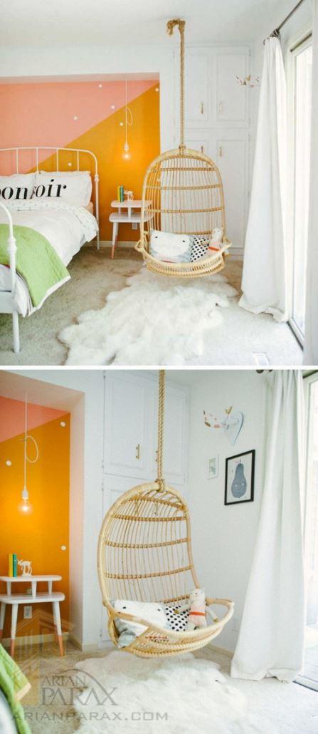 عکس اتاق خواب دخترونه