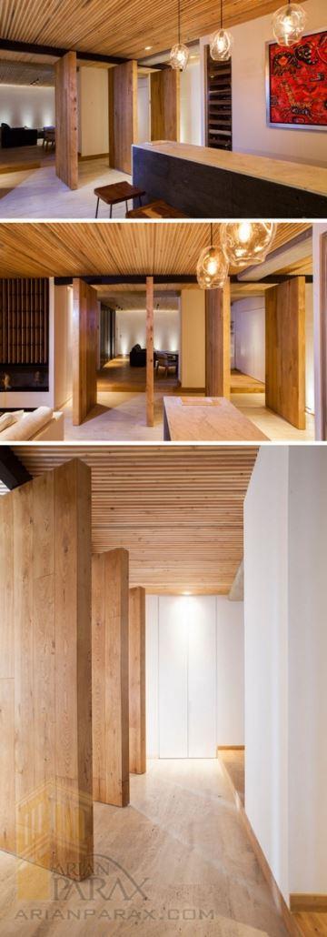 دکوراسیون منزل با چوب