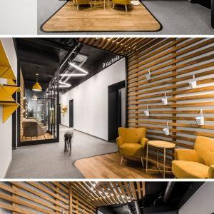 طراحی دفتر کار با چوب