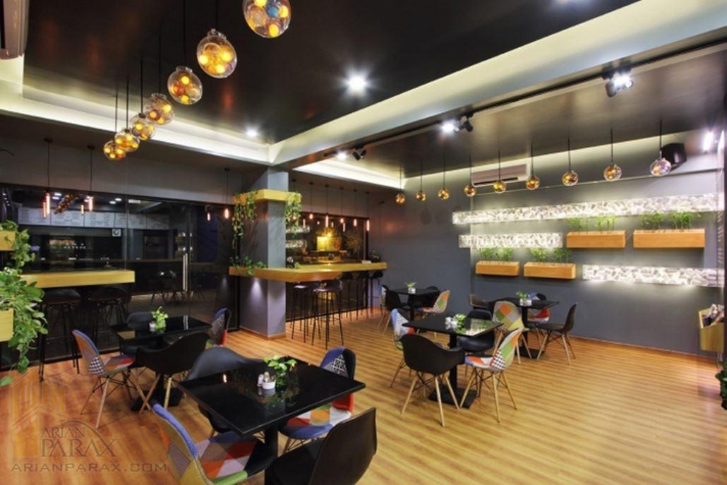 طراحی داخلی کافه تریا