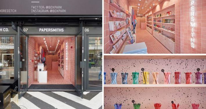 طراحی مغازه لوازم التحریر