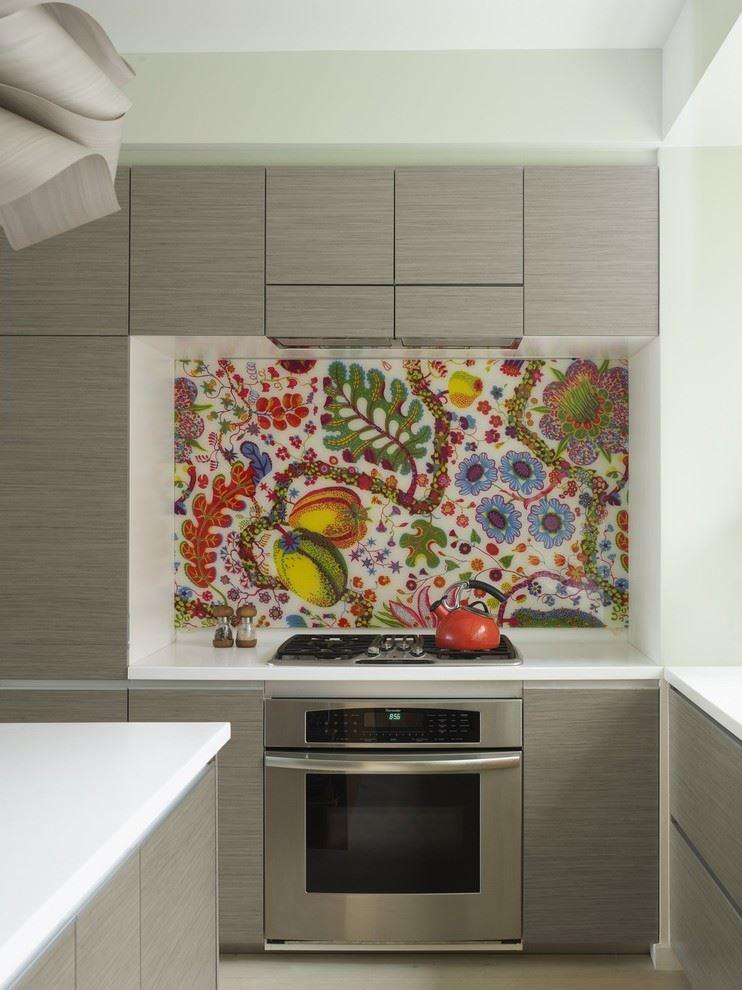 طراحی دکوراسیون آشپزخانه با پارچه