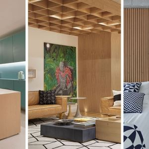 طراحی دکوراسیون منزل با چوب