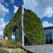 نمای ساختمان با پوشش گیاهی