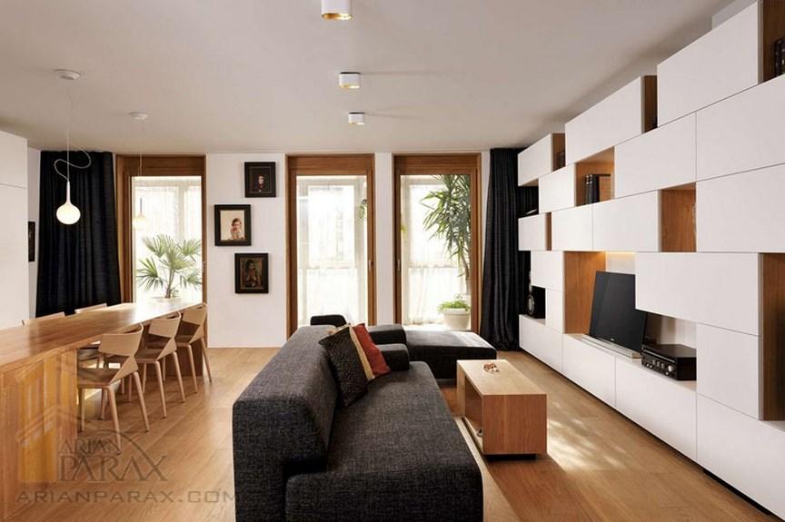 ایده های طراحی برای اتاق نشیمن