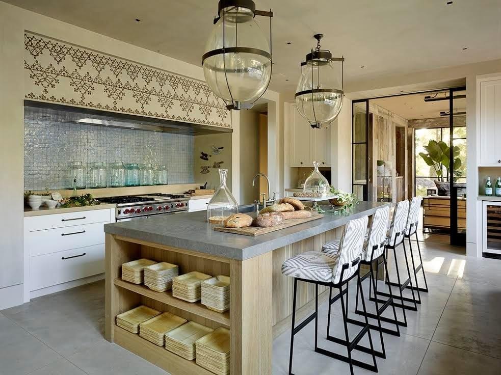 دکوراسیون آشپزخانه به سبک مدیترانه