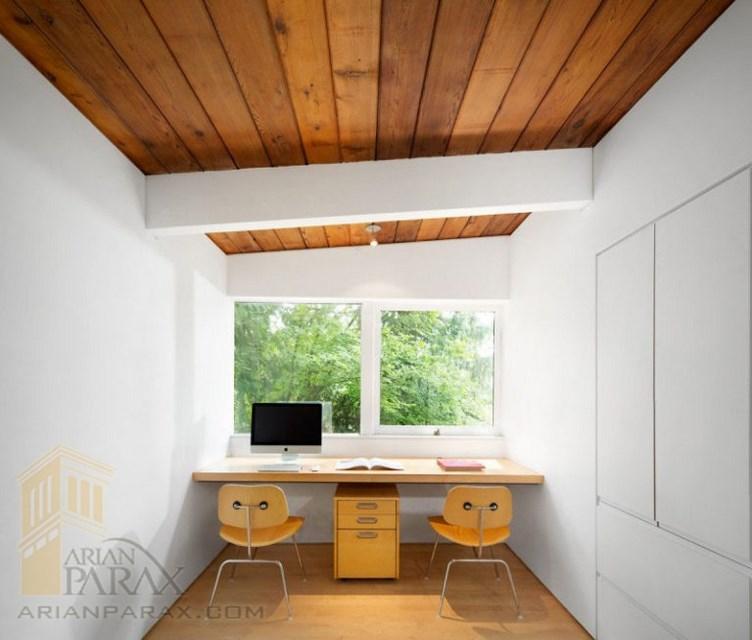 طراحی داخلی دفتر کار در منزل