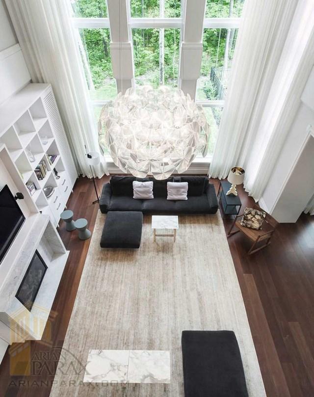 دیزاین اتاق نشیمن به سبک مدرن