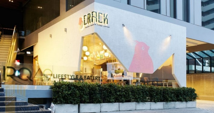 طراحی رستوران مدرن با ایده جالب