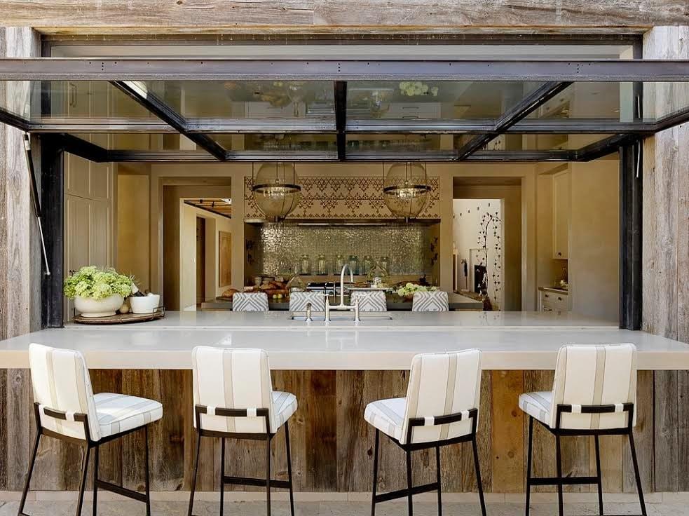 معماری داخلی به سبک مدیترانه