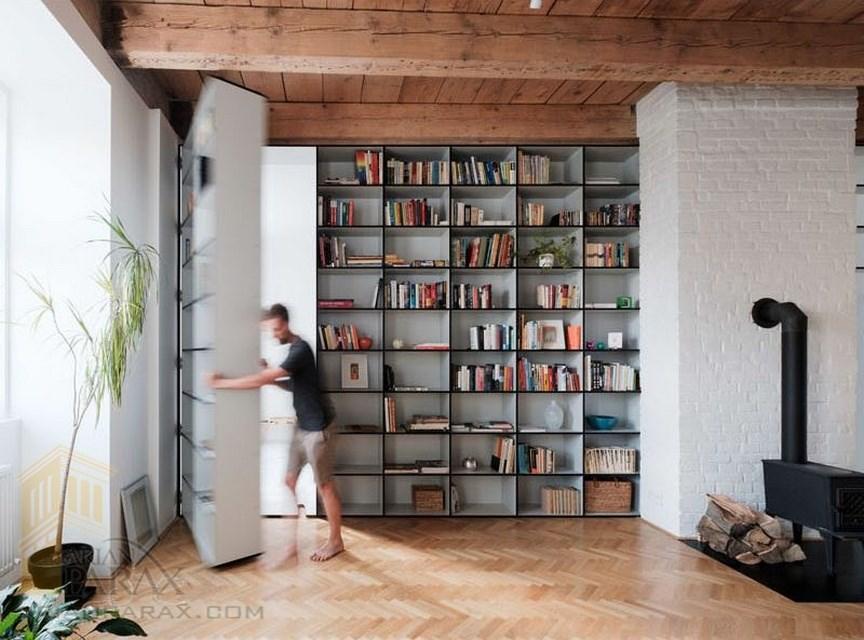 طراحی درب مخفی