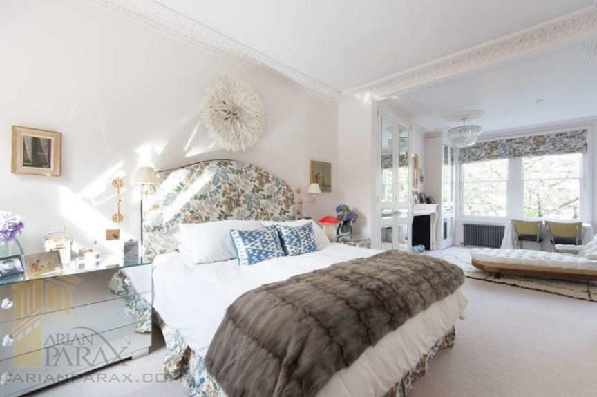 طراحی اتاق خواب با رنگ های متنوع