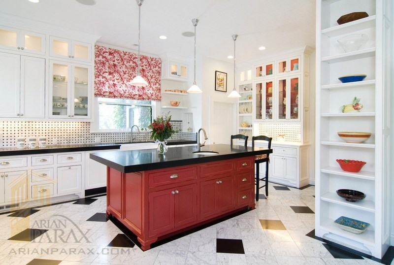 طراحی آشپزخانه کابینت