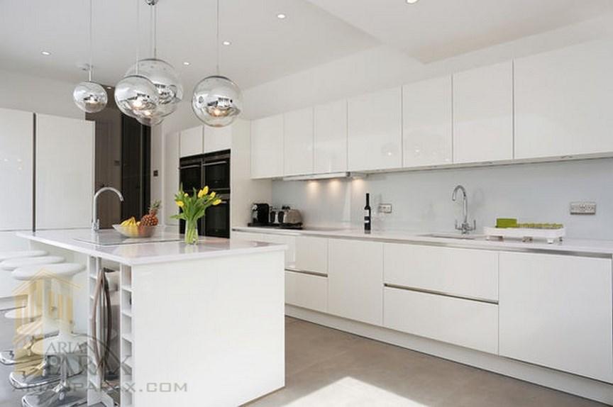 طراحی آشپزخانه جزیره ای