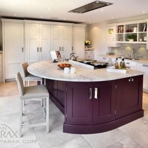 طراحی کابینت آشپزخانه جزیره ای