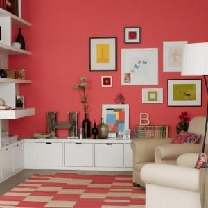 رنگ مناسب برای اتاق نشیمن خانه