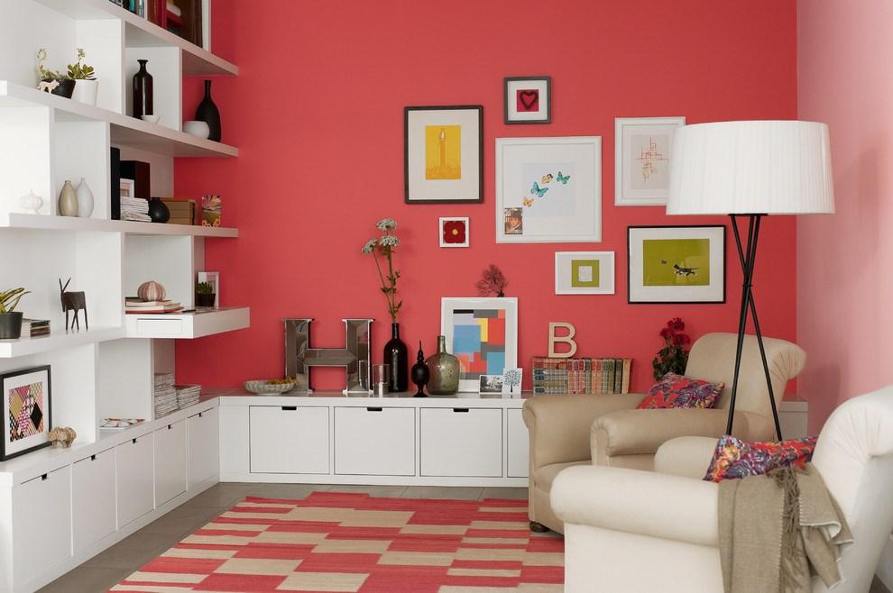 انتخاب رنگ مناسب برای اتاق نشیمن خانه