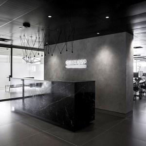دکور داخلی دفتر اداری