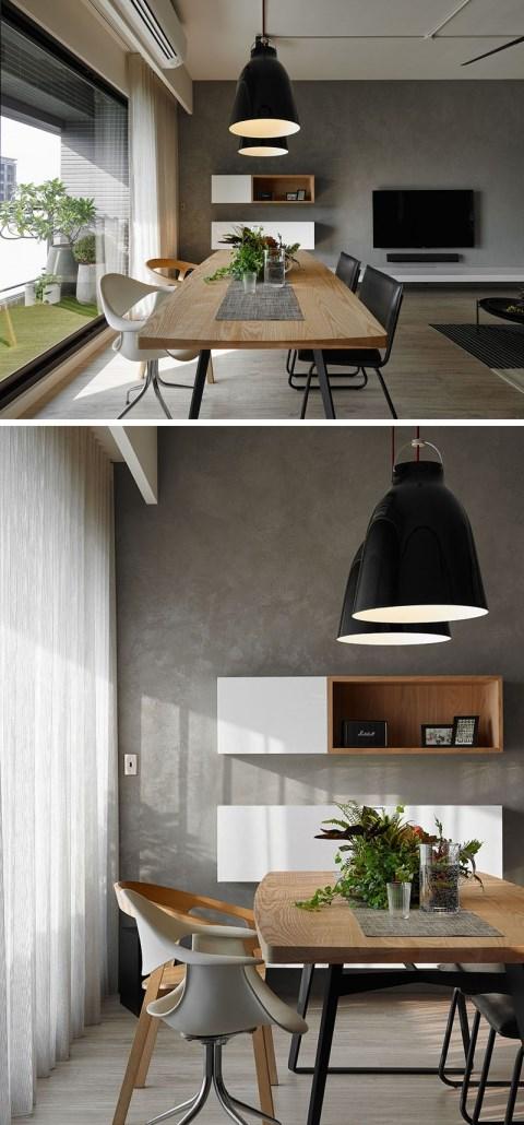 معماری داخلی خانه آپارتمانی