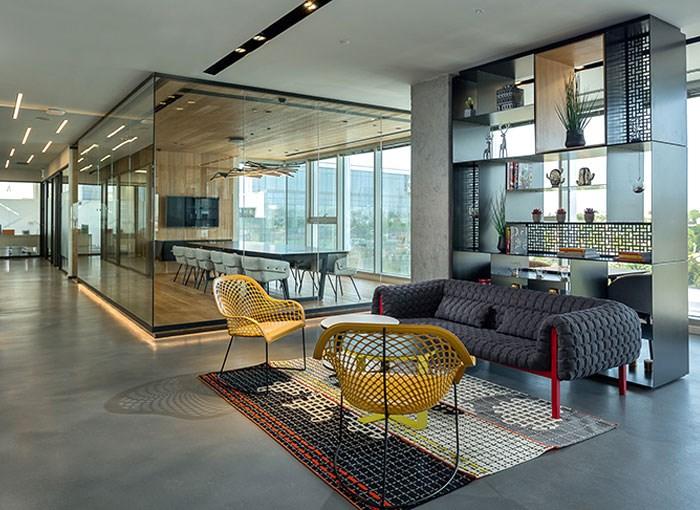 دیزاین داخلی دفتر اداری