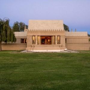 رونمایی جدید از خانه حیرت انگیز فرانک لوید رایت : خانه گل ختمی