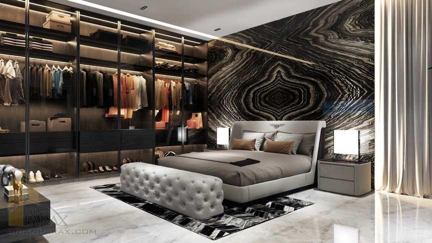 modern-master-bedroom-with-closet-ideas-paraxx - آرین پاراکس